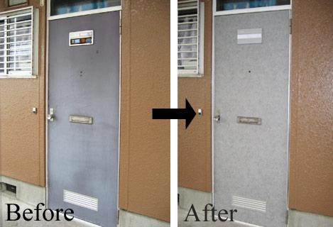 玄関ドアデザインリフォーム 有限会社 レザックス神奈川県住まいの