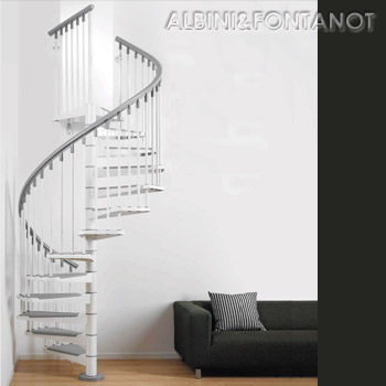 Steel Spiral Staircase Kit(スチール)